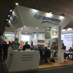 Grupo Agroponiente en el stand de fruit logistica 2019