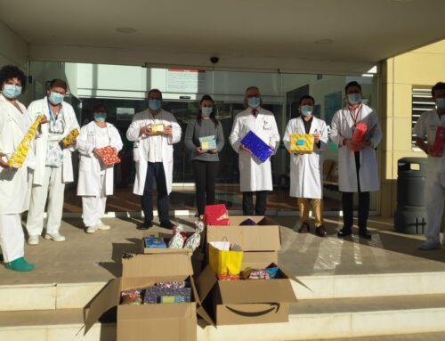 Éxito en la campaña de recogida de juguetes para el Hospital Torrecárdenas