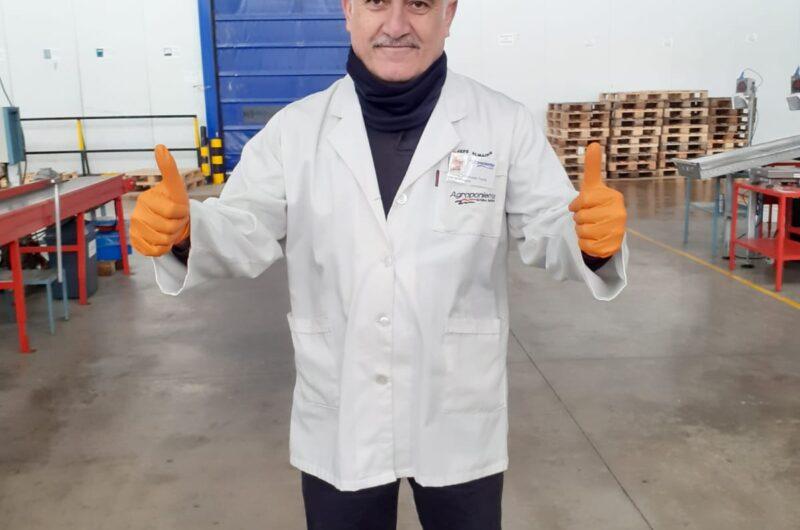 """Antonio Maldonado: """"En el almacén estamos tomando iniciativas para que el ambiente de trabajo sea muy agradable, especialmente en estas circunstancias"""""""