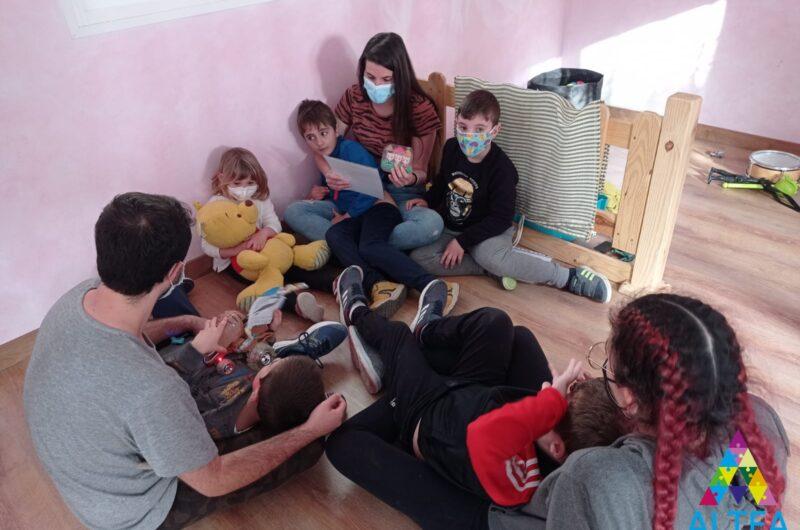 Volvemos a colaborar en el Campamento Inclusivo de la Asociación Altea Autismo