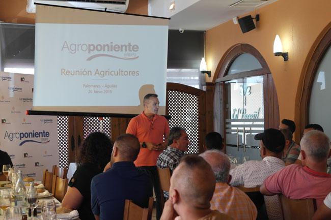 Celebramos una reunión con nuestros agricultores de la zona del Levante almeriense