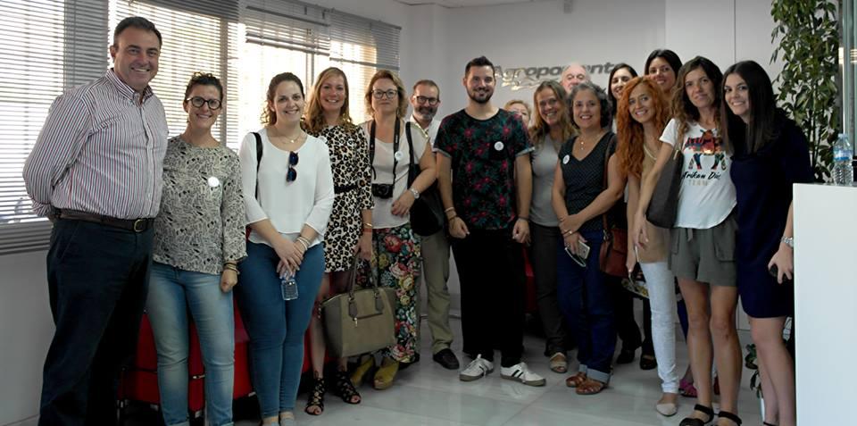 Recibimos la visita de blogueros de la mano de Love My Salad de Rijk Zwaan
