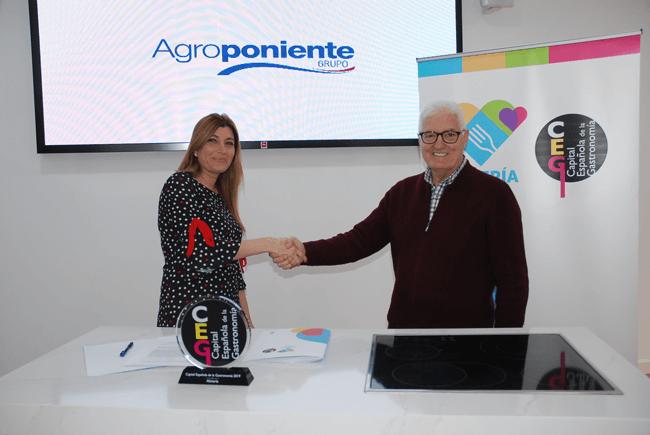 Nos adherimos a la Capital Española de la Gastronomía Almería 2019