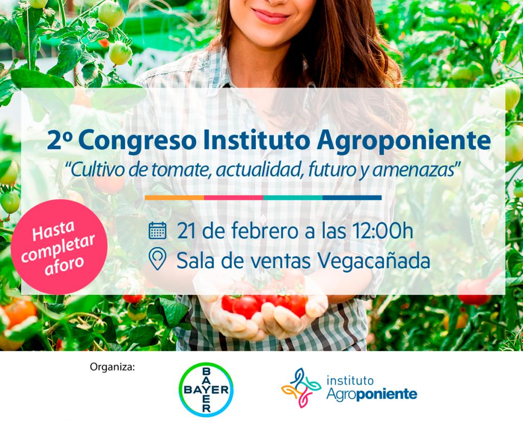 Segunda edición del Instituto Agroponiente: Cultivo de tomate, actualidad, futuro y amenazas