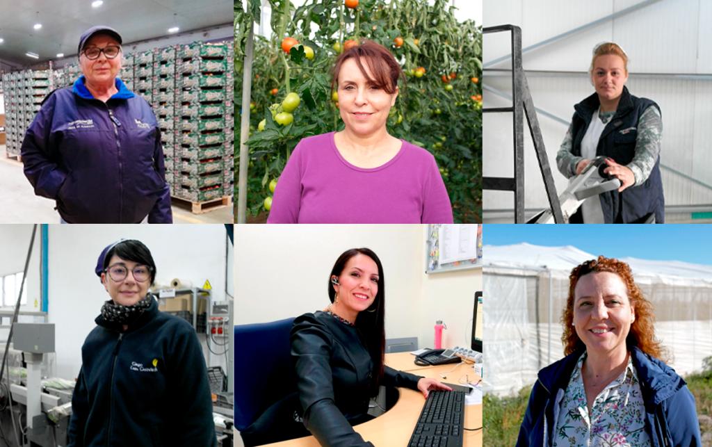 Realizamos realiza una campaña de entrevistas para dar voz a seis mujeres en el ámbito agrícola