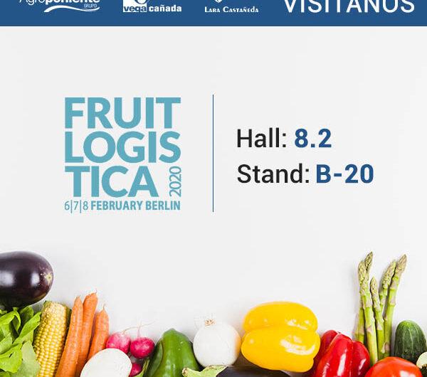 Grupo Agroponiente afronta su duodécima presencia consecutiva con stand en Fruit Logística 2020, donde se ubicará en el Hall 8.2 de Messe Berlí