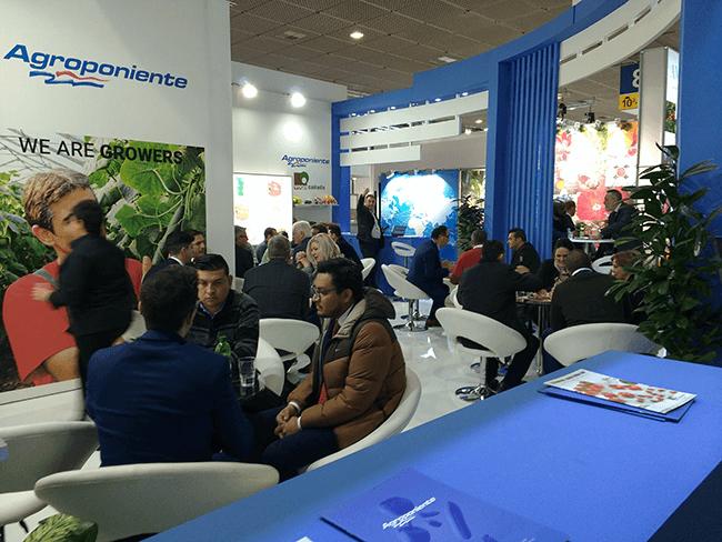 Nuestro stand punto de encuentro parta clientes e instituciones en Fruit Logística 2018