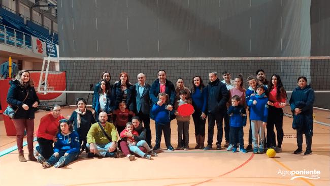 Jorge Reig, CEO visita las actividades deportivas de los niños de la Asociación Altea