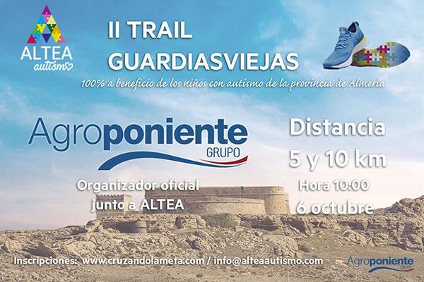 Patrocinadores del II Trail Guardias Viejas 'Carrera Azul por el Autismo', de Altea