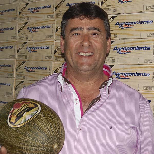 """José Ruiz pronostica que """"este año puede haber una apuesta importante por el melón en el campo almeriense"""""""